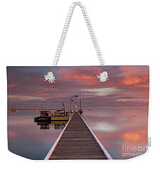 A.m. Solitude Weekender Tote Bag