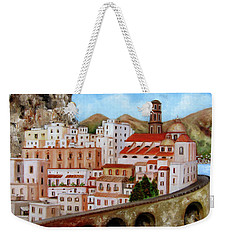 Amalfi Coast Weekender Tote Bag