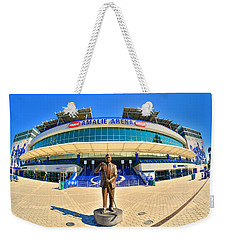 Weekender Tote Bag featuring the photograph Amalie Arena by Lisa Wooten