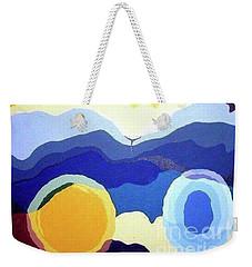 Amandas Abstract Weekender Tote Bag