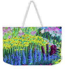 Amaranth In The Gardens At Hollandia Weekender Tote Bag