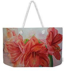 Amarylis Weekender Tote Bag