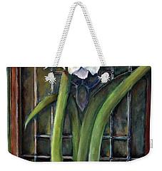 Amaryllis In The Window Weekender Tote Bag