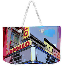 Amateur Night At The Apollo Weekender Tote Bag by Ed Weidman