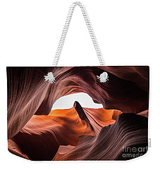 Amazing Antelope Canyon Weekender Tote Bag by JR Photography