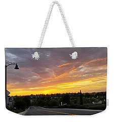 Colorful Sunset In Mission Viejo Weekender Tote Bag