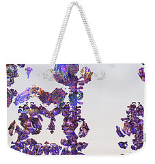 Amazing Delicate Fractal Pattern Weekender Tote Bag