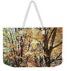 Weekender Tote Bag featuring the photograph Amazing Fall by Irina Sztukowski