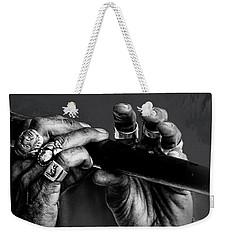 Amazing Grace Weekender Tote Bag by Evie Carrier