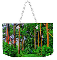 Amazing Rainbow Eucalyptus Weekender Tote Bag