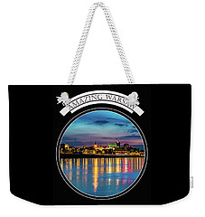 Weekender Tote Bag featuring the photograph Amazing Warsaw Tee 1 by Julis Simo