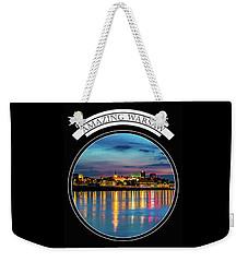 Amazing Warsaw Tee 1 Weekender Tote Bag by Julis Simo