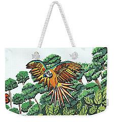 Amazon Bird Weekender Tote Bag