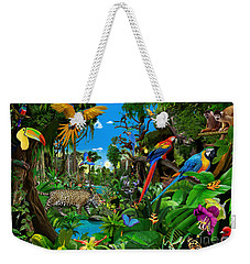 Amazon Sunrise Weekender Tote Bag