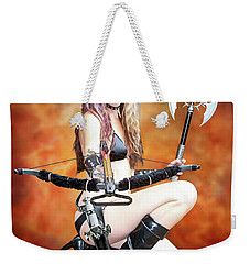 Amazon Warrior Weekender Tote Bag