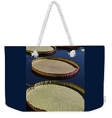 Amazonas Lily Pads II Weekender Tote Bag by Suzanne Gaff