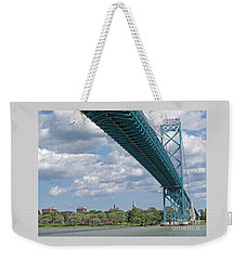 Ambassador Bridge - Windsor Approach Weekender Tote Bag