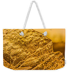Amber Ice Abstract Weekender Tote Bag