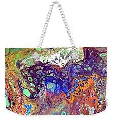Amber Rave Weekender Tote Bag