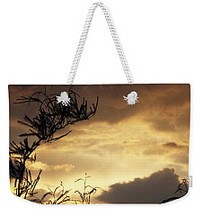 Amber Sky Weekender Tote Bag by Glenn McCarthy Art and Photography