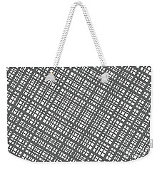Weekender Tote Bag featuring the digital art Ambient 36 by Bruce Stanfield
