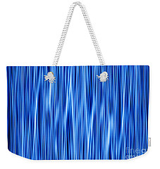 Weekender Tote Bag featuring the digital art Ambient 8 by Bruce Stanfield