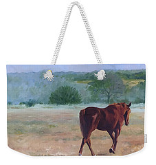 Ambling To Pasture Weekender Tote Bag