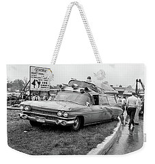 Ambulance Accident Weekender Tote Bag by Paul Seymour