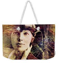 Amelia Weekender Tote Bag by Barbara Berney