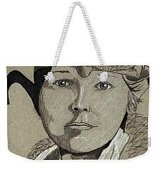 Amelia Earhart Weekender Tote Bag