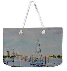 Amelia Island Port Weekender Tote Bag