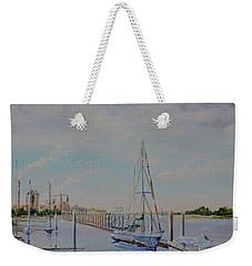 Amelia Island Port Weekender Tote Bag by AnnaJo Vahle