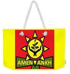 Amen Ankh Sunset Weekender Tote Bag