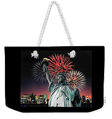 America The Beautiful  Weekender Tote Bag