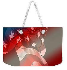 America Weekender Tote Bag by Tbone Oliver