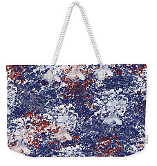 America Watercolor Weekender Tote Bag