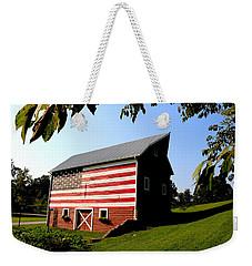 Americana 1 Desoto Kansas Weekender Tote Bag
