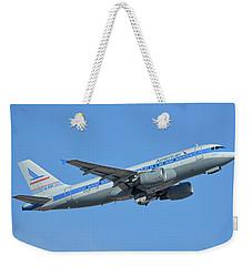 American Airbus A319-0112 N744p Piedmont Pacemaker Phoenix Sky Harbor October 16 2017 Weekender Tote Bag
