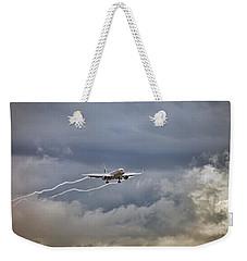 American Aircraft Landing Weekender Tote Bag