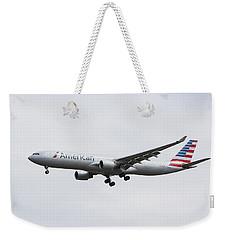 American Airlines Airbus A330 Weekender Tote Bag