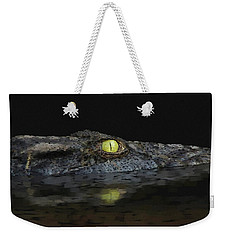 American Aligator Weekender Tote Bag by Kathie Miller