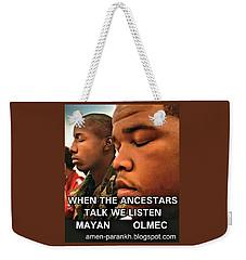 American Ancestars Weekender Tote Bag