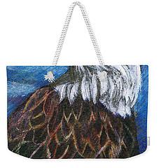 American Bald Eagle Weekender Tote Bag by John Keaton