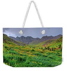 American Basin Summer Storm Weekender Tote Bag by Teri Brown