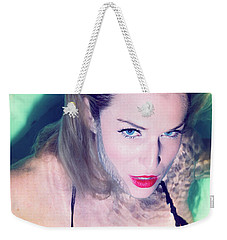 American Beauty No73-5837 Weekender Tote Bag by Amyn Nasser