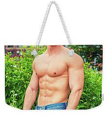 American City Boy Weekender Tote Bag