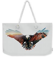 American Eagle Weekender Tote Bag by John Beckley