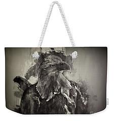 American Eagle Monochrome Weekender Tote Bag