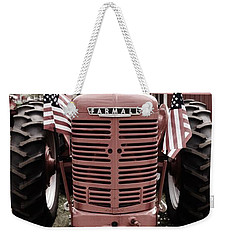American Farmall Head On Weekender Tote Bag