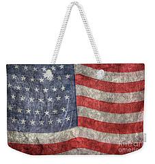 American Flag Weekender Tote Bag by Randy Steele